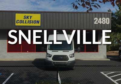 Sky Collision Snellville Ga