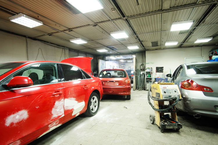 Auto Body Repair Shop Sky Collision Repair Car Paint Shop