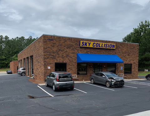 Sky Collision Buford Georgia Shop